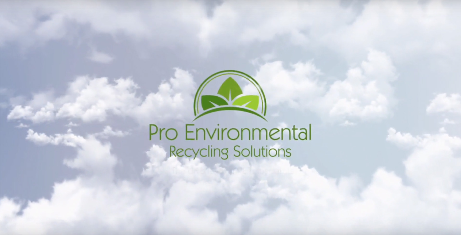 Pro Environmental Video Intro